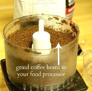 grind coffee in food processor