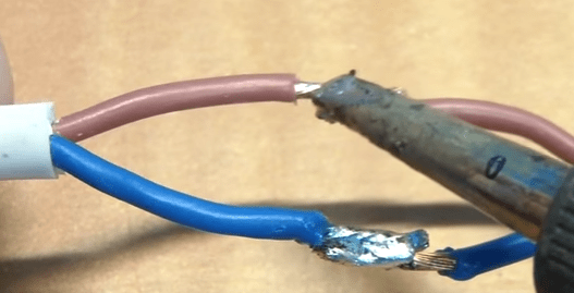 Use Soldering Iron to Join Wires Together