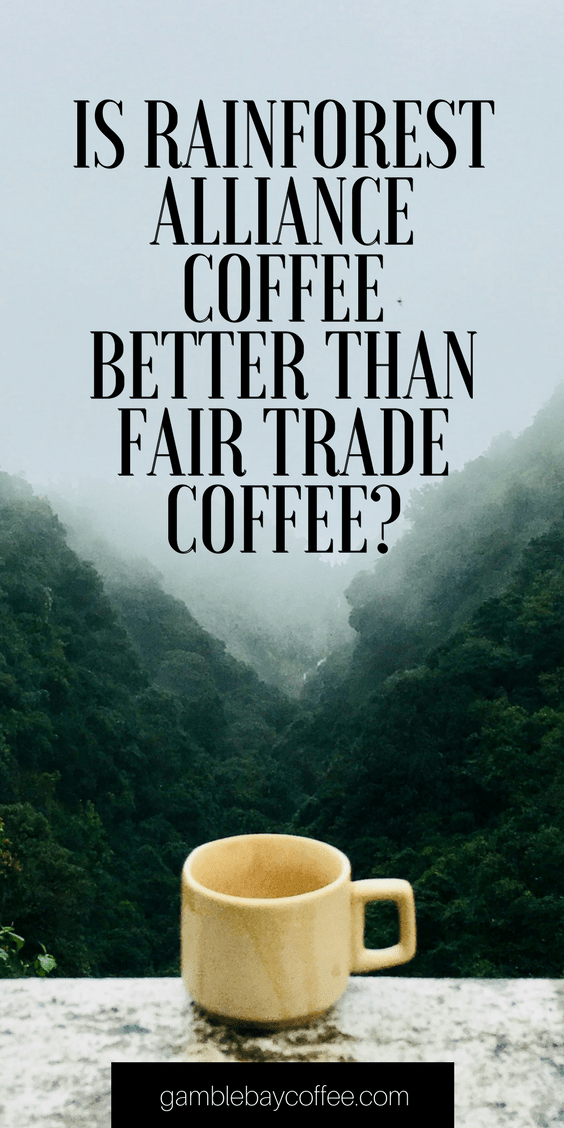 Rainforest Alliance vs Fair Trade Coffee