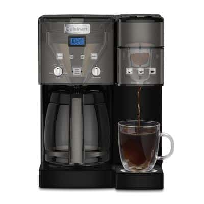 The Dual-Brew Cuisinart SS-15BKS Coffee Center