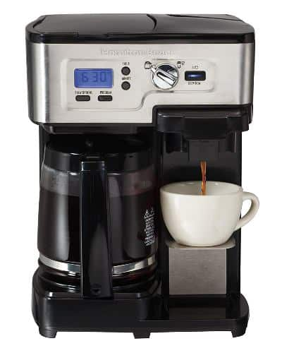 The Hamilton Beach 2-Way FlexBrew 49983 Coffee Maker